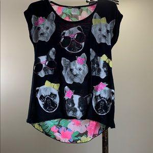 Size 7/8 - Adorable dog lovers stylish shirt